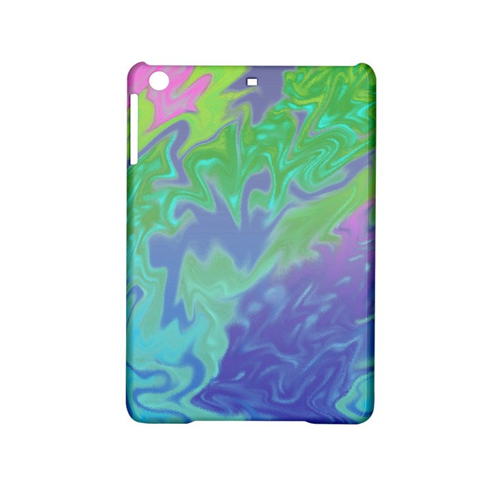 Green Blue Pink Color Splash iPad Mini 2 Hardshell Cases