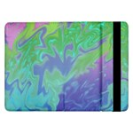 Green Blue Pink Color Splash Samsung Galaxy Tab Pro 12.2  Flip Case Front