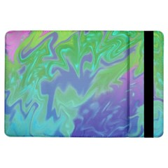 Green Blue Pink Color Splash Ipad Air Flip by BrightVibesDesign