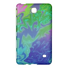 Green Blue Pink Color Splash Samsung Galaxy Tab 4 (7 ) Hardshell Case  by BrightVibesDesign