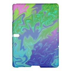 Green Blue Pink Color Splash Samsung Galaxy Tab S (10 5 ) Hardshell Case  by BrightVibesDesign