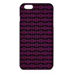 Pink Black Retro Tiki Pattern Iphone 6 Plus/6s Plus Tpu Case by BrightVibesDesign