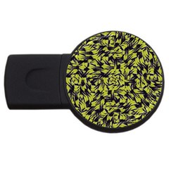 Modern Abstract Interlace Usb Flash Drive Round (2 Gb)  by dflcprints