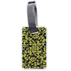 Modern Abstract Interlace Luggage Tags (one Side)  by dflcprints