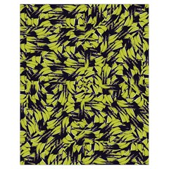 Modern Abstract Interlace Drawstring Bag (small) by dflcprints
