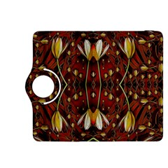 Fantasy Flowers And Leather In A World Of Harmony Kindle Fire HDX 8.9  Flip 360 Case by pepitasart