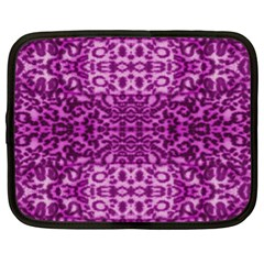 Lion In Purple Netbook Case (xl)