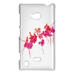 Minimal Floral Print Nokia Lumia 720 by dflcprints