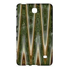 Green Brown Zigzag Samsung Galaxy Tab 4 (8 ) Hardshell Case  by BrightVibesDesign