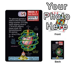High Frontier I By Carles Ryhr   Multi Purpose Cards (rectangle)   4nrv52k496yu   Www Artscow Com Front 52