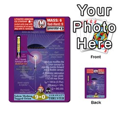 High Frontier I By Carles Ryhr   Multi Purpose Cards (rectangle)   4nrv52k496yu   Www Artscow Com Back 53