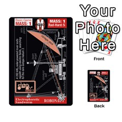 High Frontier I By Carles Ryhr   Multi Purpose Cards (rectangle)   4nrv52k496yu   Www Artscow Com Back 7