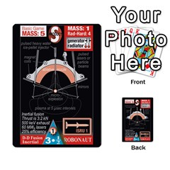 High Frontier I By Carles Ryhr   Multi Purpose Cards (rectangle)   4nrv52k496yu   Www Artscow Com Back 8