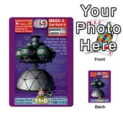 High Frontier I By Carles Ryhr   Multi Purpose Cards (rectangle)   4nrv52k496yu   Www Artscow Com Back 49