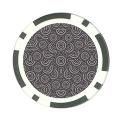 Geometric Boho Print Poker Chip Card Guards (10 Pack)  by dflcprints