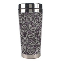 Geometric Boho Print Stainless Steel Travel Tumblers by dflcprints