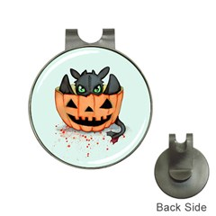 Halloween Dragon Hat Clips With Golf Markers by lvbart