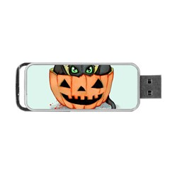 Halloween Dragon Portable Usb Flash (two Sides) by lvbart