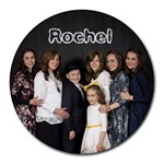 rochels mousepad - Round Mousepad
