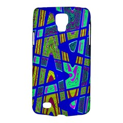 Bright Blue Mod Pop Art  Galaxy S4 Active by BrightVibesDesign