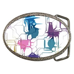 Cracked Wall                                 belt Buckle by LalyLauraFLM