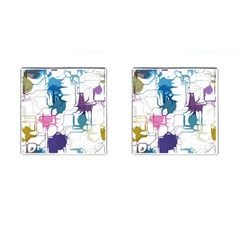 Cracked Wall                                 cufflinks (square) by LalyLauraFLM