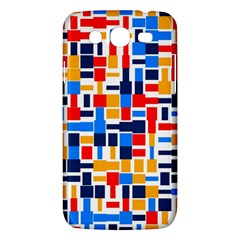 Colorful Shapes                                  			samsung Galaxy Mega 5 8 I9152 Hardshell Case by LalyLauraFLM