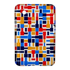 Colorful Shapes                                  			samsung Galaxy Tab 2 (7 ) P3100 Hardshell Case by LalyLauraFLM