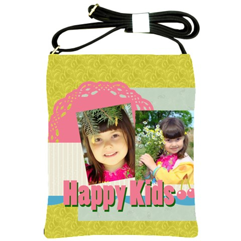 Kids By Kids   Shoulder Sling Bag   6zquymb0rr6b   Www Artscow Com Front