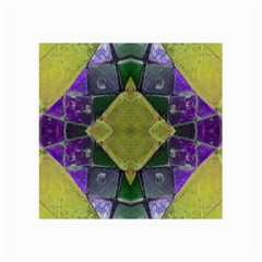 Purple Yellow Stone Abstract Collage Prints by BrightVibesDesign