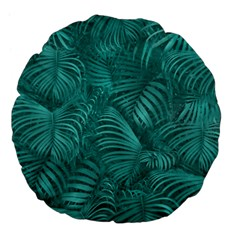 Tropical Hawaiian Pattern Large 18  Premium Flano Round Cushions by dflcprints
