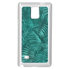 Tropical Hawaiian Pattern Samsung Galaxy Note 4 Case (white) by dflcprints