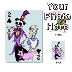 Nightmare In Wonderland  Playing Cards 54 Designs  by lvbart