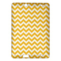 Sunny Yellow & White Zigzag Pattern Amazon Kindle Fire Hd (2013) Hardshell Case