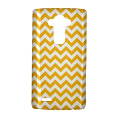 Sunny Yellow & White Zigzag Pattern Lg G4 Hardshell Case