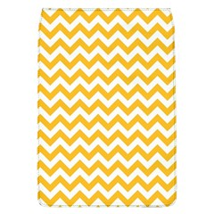 Sunny Yellow & White Zigzag Pattern Removable Flap Cover (l)