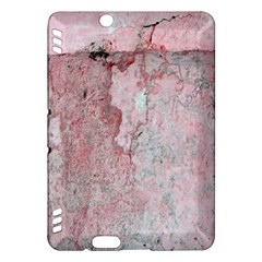 Coral Pink Abstract Background Texture Kindle Fire Hdx Hardshell Case by CrypticFragmentsDesign