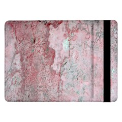 Coral Pink Abstract Background Texture Samsung Galaxy Tab Pro 12 2  Flip Case by CrypticFragmentsDesign