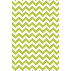 Spring Green & White Zigzag Pattern One Piece Boyleg Swimsuit 5 5  X 8 5  Notebook by Zandiepants