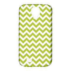 Spring Green & White Zigzag Pattern One Piece Boyleg Swimsuit Samsung Galaxy S4 Classic Hardshell Case (pc+silicone)