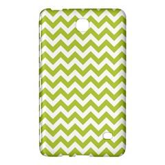 Spring Green & White Zigzag Pattern One Piece Boyleg Swimsuit Samsung Galaxy Tab 4 (8 ) Hardshell Case