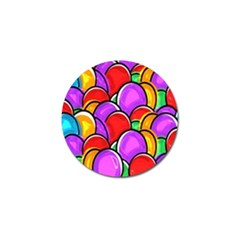 Colored Easter Eggs Golf Ball Marker by StuffOrSomething