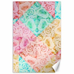 A Rose Is A Rose Canvas 24  x 36  by hennigdesign