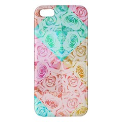 A Rose Is A Rose Apple iPhone 5 Premium Hardshell Case by hennigdesign