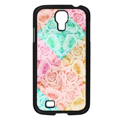 A Rose Is A Rose Samsung Galaxy S4 I9500/ I9505 Case (black) by hennigdesign