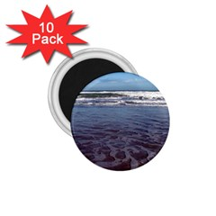 Ocean Surf Beach Waves 1 75  Magnets (10 Pack)  by CrypticFragmentsColors