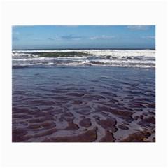 Ocean Surf Beach Waves Small Glasses Cloth
