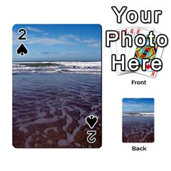 Ocean Surf Beach Waves Playing Cards 54 Designs  by CrypticFragmentsColors
