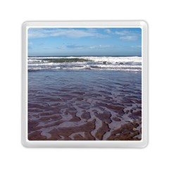 Ocean Surf Beach Waves Memory Card Reader (square)