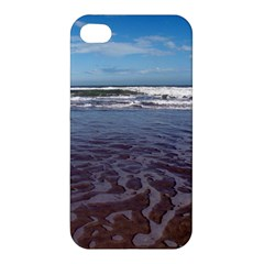 Ocean Surf Beach Waves Apple Iphone 4/4s Hardshell Case by CrypticFragmentsColors